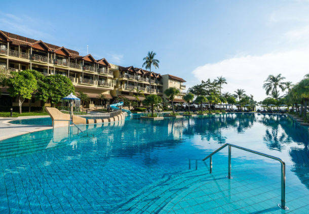 Chloe's 5 Star Marriott placement hotel in Phuket, Thailand