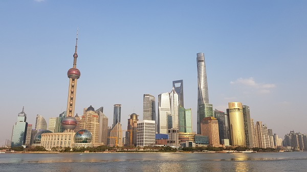 A view of PuDong taken from the famous Bund in Shanghai. One of the many places you can visit during your time teaching in China.