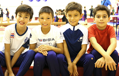 Placement Year International - Gymnastics placements in Thailand
