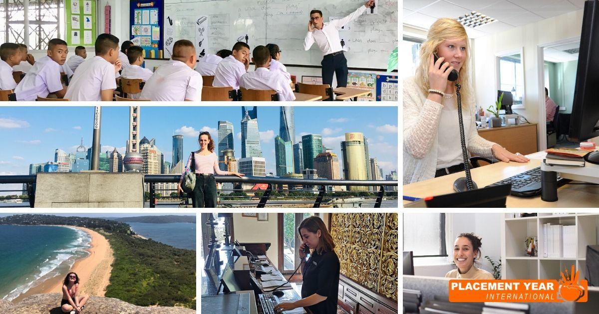 International work placements and internships